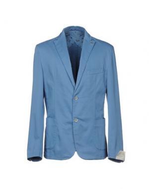 Пиджак BARBATI. Цвет: небесно-голубой