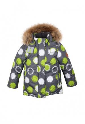 Куртка утепленная Zukka. Цвет: серый