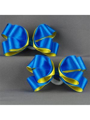 Резинки-бантики Кристина Аккесорио - Мастер. Цвет: синий