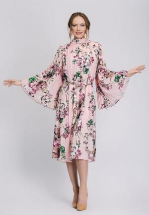 Платье Cavo. Цвет: розовый
