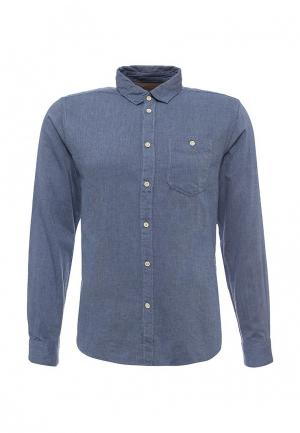 Рубашка джинсовая Springfield. Цвет: синий