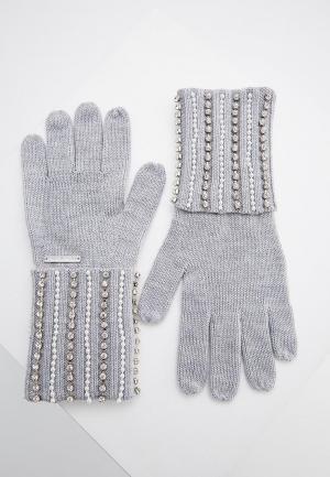 Перчатки Michael Kors. Цвет: серый