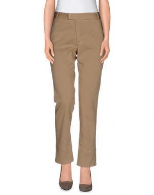 Повседневные брюки BAND OF OUTSIDERS. Цвет: хаки