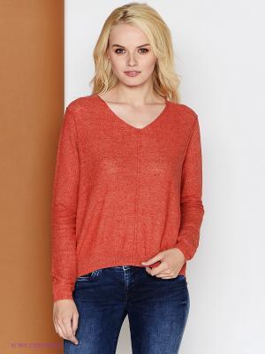 Пуловер PEPE JEANS LONDON. Цвет: терракотовый