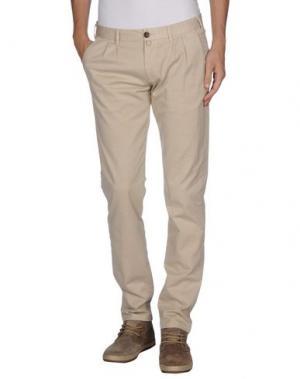 Повседневные брюки LIBERO. Цвет: бежевый