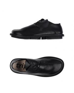 Обувь на шнурках TRIPPEN. Цвет: черный