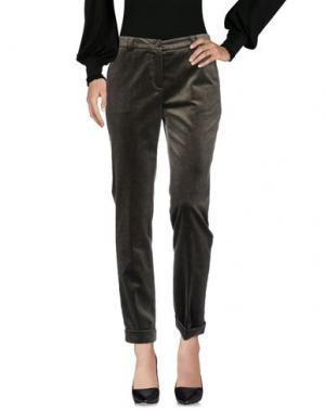 Повседневные брюки LORENA ANTONIAZZI. Цвет: зеленый-милитари