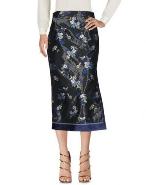 Длинная юбка AQUILANO-RIMONDI. Цвет: темно-синий