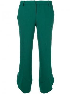 Укороченные брюки клеш  LAutre Chose L'Autre. Цвет: зелёный