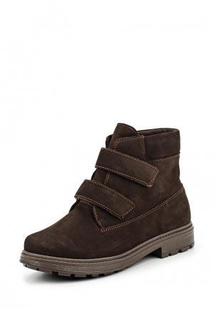 Ботинки Спартак. Цвет: коричневый