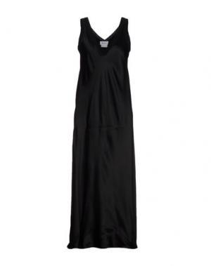 Длинное платье DKNY. Цвет: черный