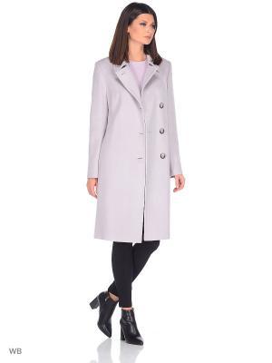 Пальто Gamelia. Цвет: светло-серый