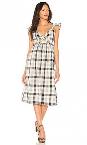 Платье rosie Clayton. Цвет: black & white
