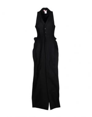 Длинное платье AND RE WALKER. Цвет: черный