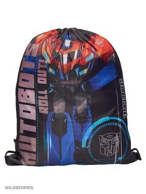 Мешок для обуви.Transformers Transformers. Цвет: красный, синий, темно-серый