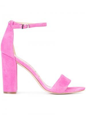 Босоножки Yaro Sam Edelman. Цвет: розовый и фиолетовый