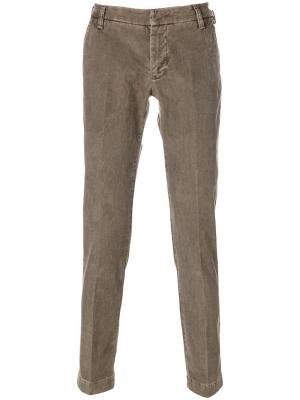 Вельветовые брюки Entre Amis. Цвет: коричневый