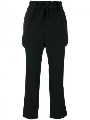 Укороченные брюки Vanessa Bruno Athé. Цвет: чёрный