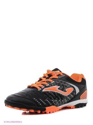 Футбольная Обувь Maxima Joma. Цвет: оранжевый, черный