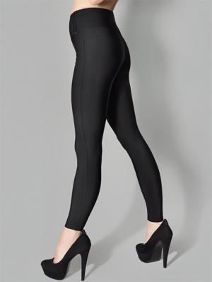 Леггинсы-брюки, модель SLIM 853 LIGHT MARILYN. Цвет: черный