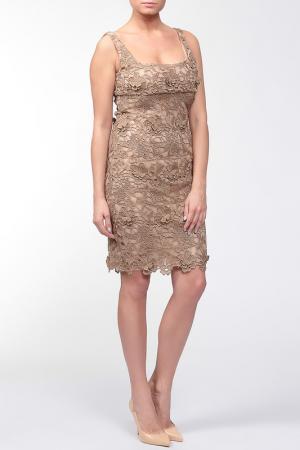 Платье Valentino. Цвет: золотой