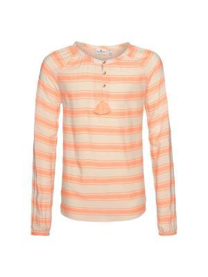 Блузка TOM TAILOR. Цвет: оранжевый
