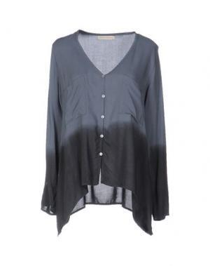 Pубашка MONICA •LENDINEZ. Цвет: свинцово-серый