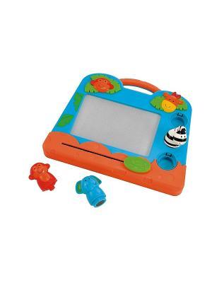 Экран для рисования малышей Джунгли ELC. Цвет: голубой