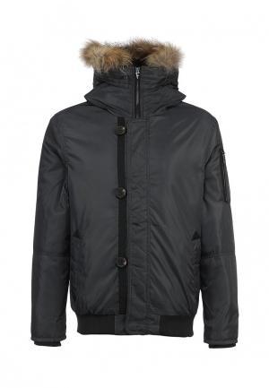 Куртка утепленная Forward. Цвет: серый