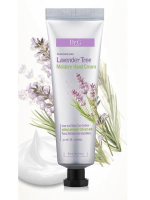 Восстанавливающий и питающий крем для чувствительной кожи рук с экстрактом лаванды Special, 50ml Dr.G. Цвет: белый