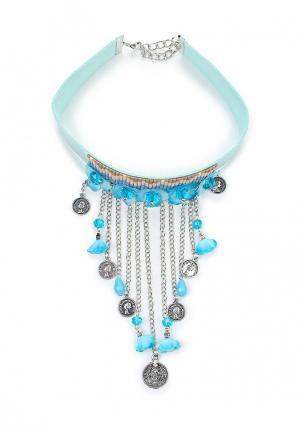 Чокер Kameo-Bis. Цвет: голубой