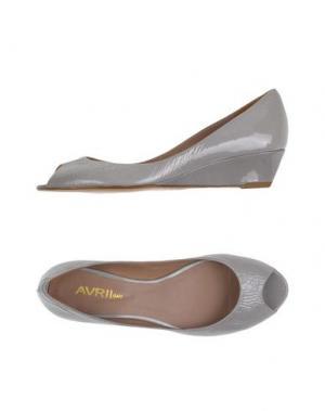 Туфли AVRIL GAU. Цвет: серый