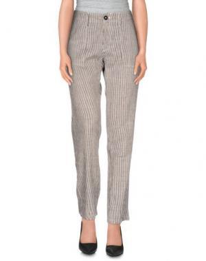 Повседневные брюки LOCAL APPAREL. Цвет: слоновая кость