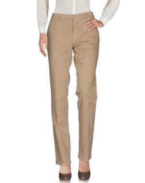 Повседневные брюки ALTEA. Цвет: бежевый