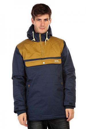 Анорак  Cloud Jacket Blue/Beige TrueSpin. Цвет: синий,зеленый