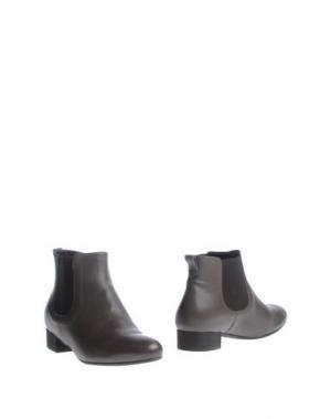 Полусапоги и высокие ботинки GUGLIELMO ROTTA. Цвет: серый