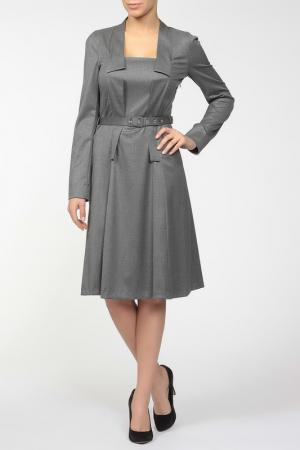 Платье Ivo Nikkolo. Цвет: серый