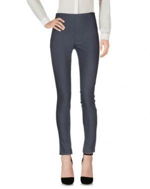 Повседневные брюки OTTOD'AME. Цвет: грифельно-синий