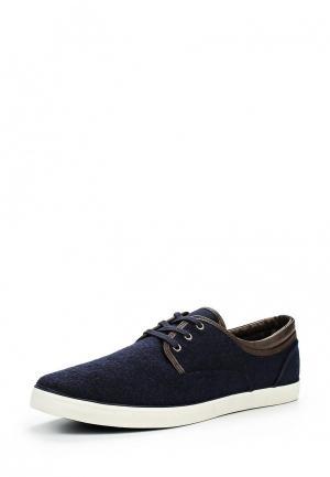 Ботинки Burton Menswear London. Цвет: синий