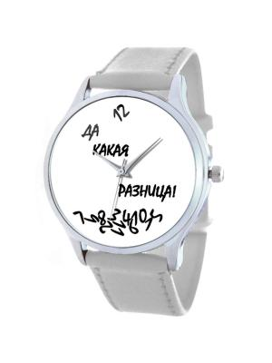 Дизайнерские часы Да какая разница Tina Bolotina. Цвет: черный, белый