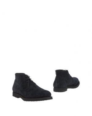 Полусапоги и высокие ботинки ANDREA VENTURA FIRENZE. Цвет: темно-синий