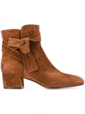 Ботинки Leslie Gianvito Rossi. Цвет: коричневый