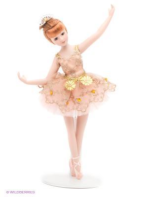 Кукла фарфоровая Майя, 9 Lisa Jane. Цвет: розовый, бежевый