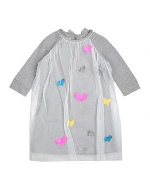 Платье BEETLEJUICE. Цвет: серый