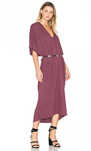 Платье luca Riller & Fount. Цвет: вишня
