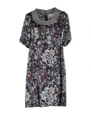Короткое платье ALYSI. Цвет: черный