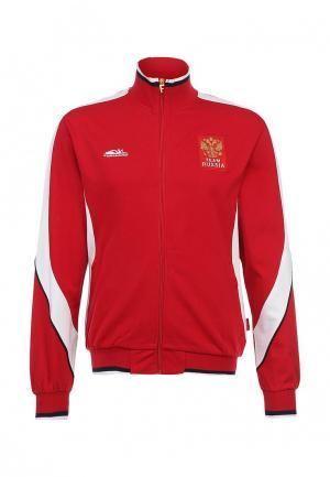 Олимпийка Forward. Цвет: красный