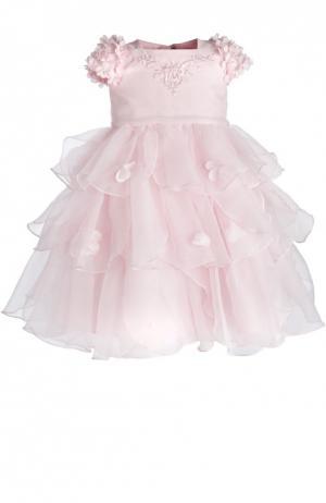 Платье Sarah Louise. Цвет: розовый
