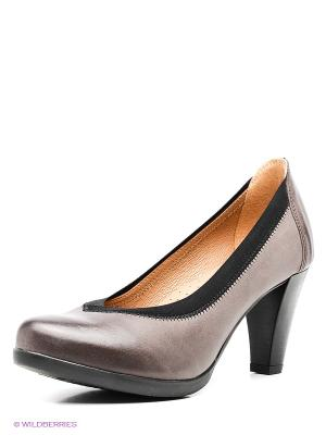 Туфли Goergo. Цвет: коричневый, черный