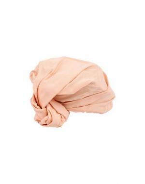 Головной убор SUPER DUPER HATS. Цвет: лососево-розовый